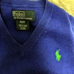 Polo by Ralph Lauren Shirts & Tops - Polo Ralph Lauren boy sweater vest